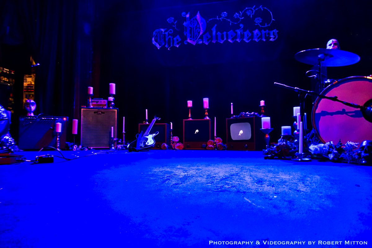 The Velveteers stage at the Bluebird Theater August 31, 2019