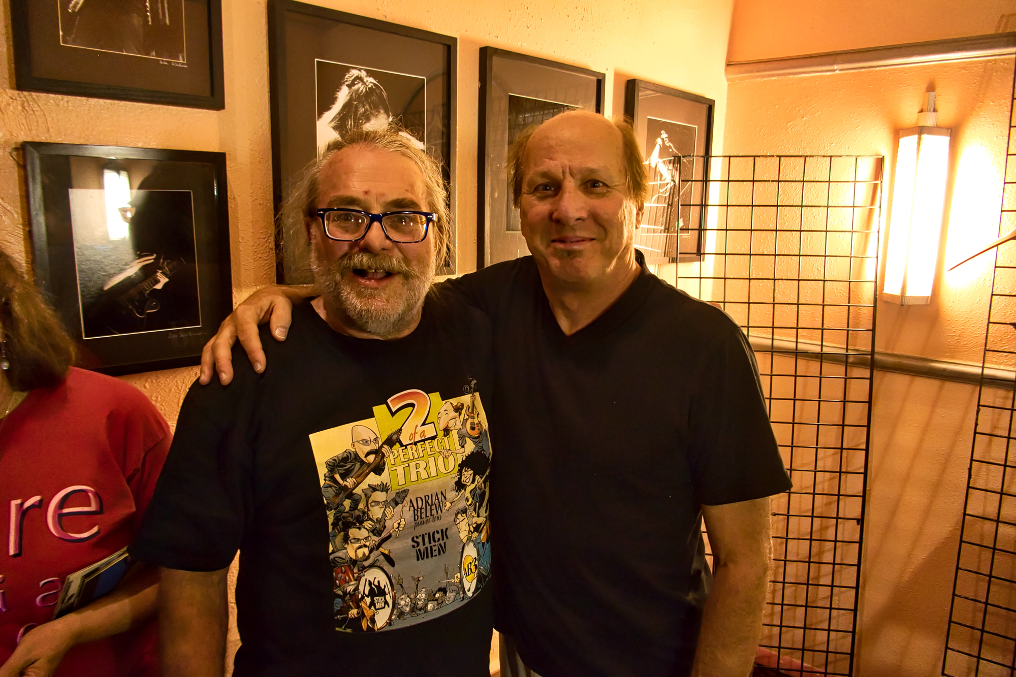 Adrian and I at the Boulder Theater September 27, 2019