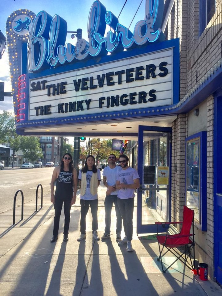 The Kinky Fingers play the Bluebird Theater