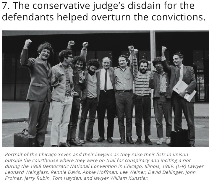 The Chicago Seven on Trial