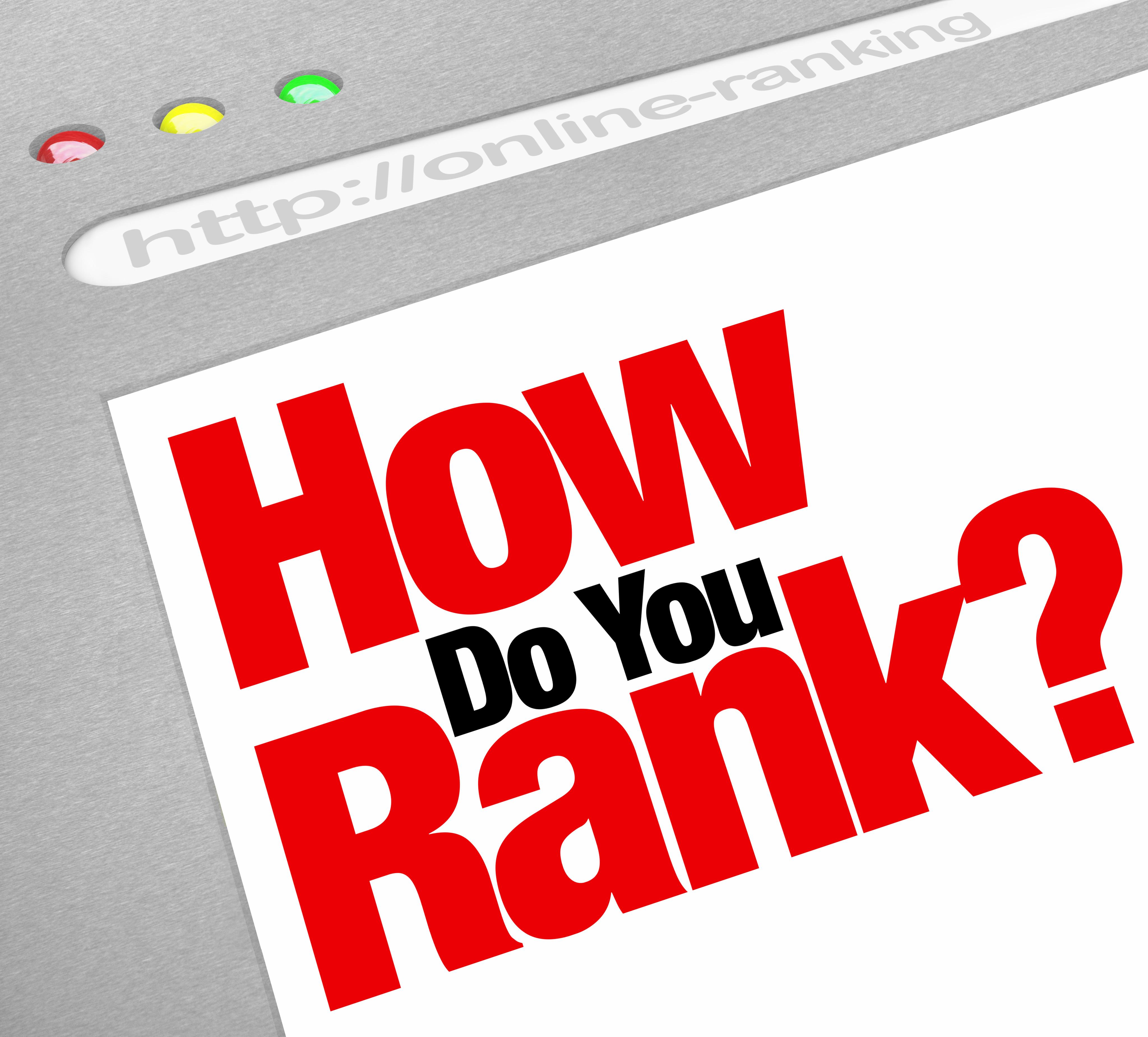 How Do You Rank?