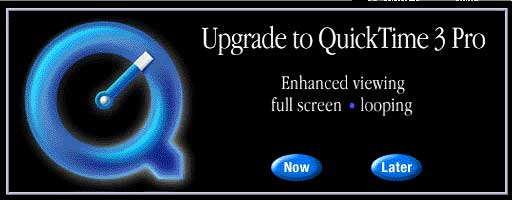 Upgrade to QuickTime Pro 3