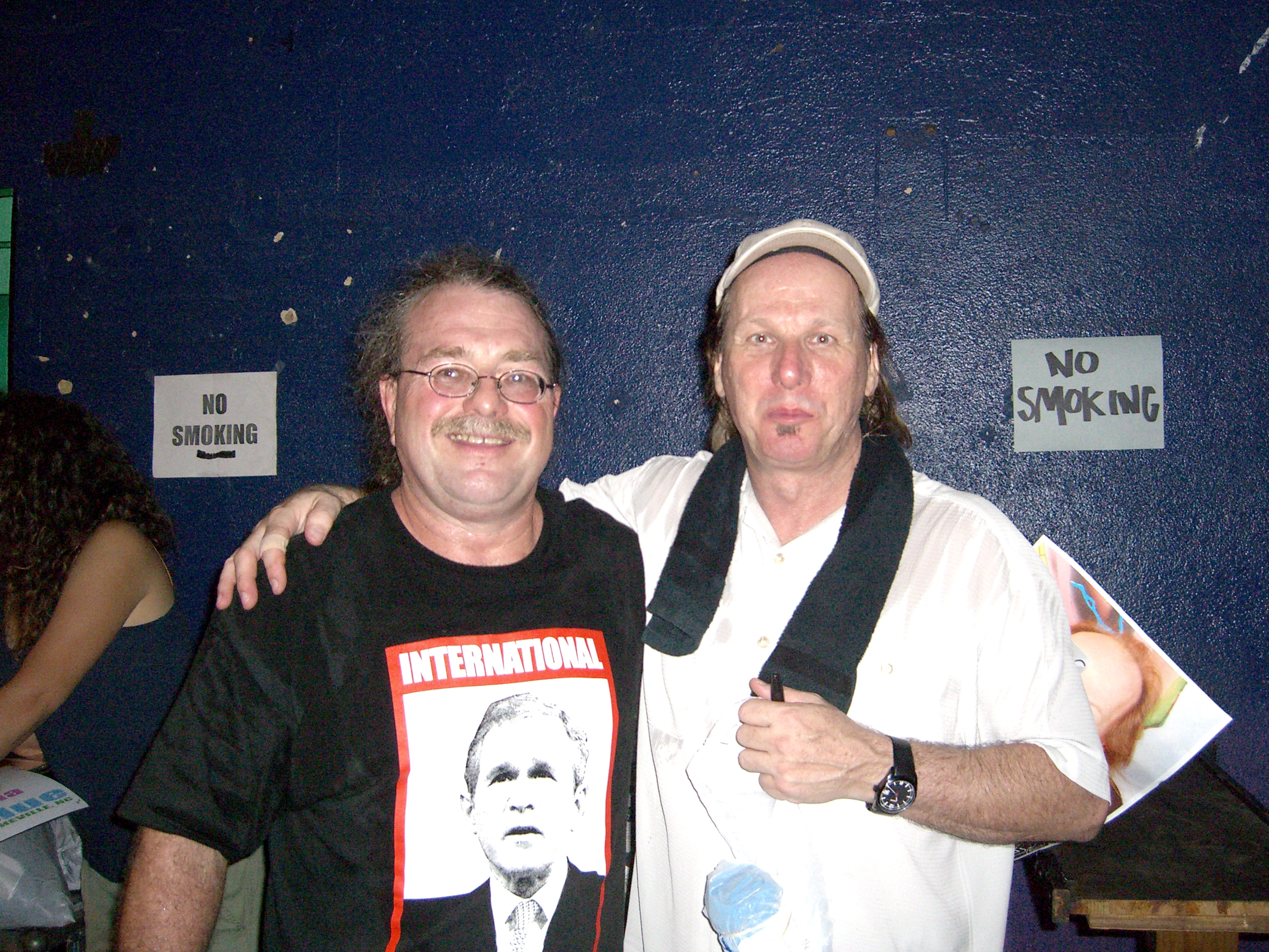 Adrian Belew and I