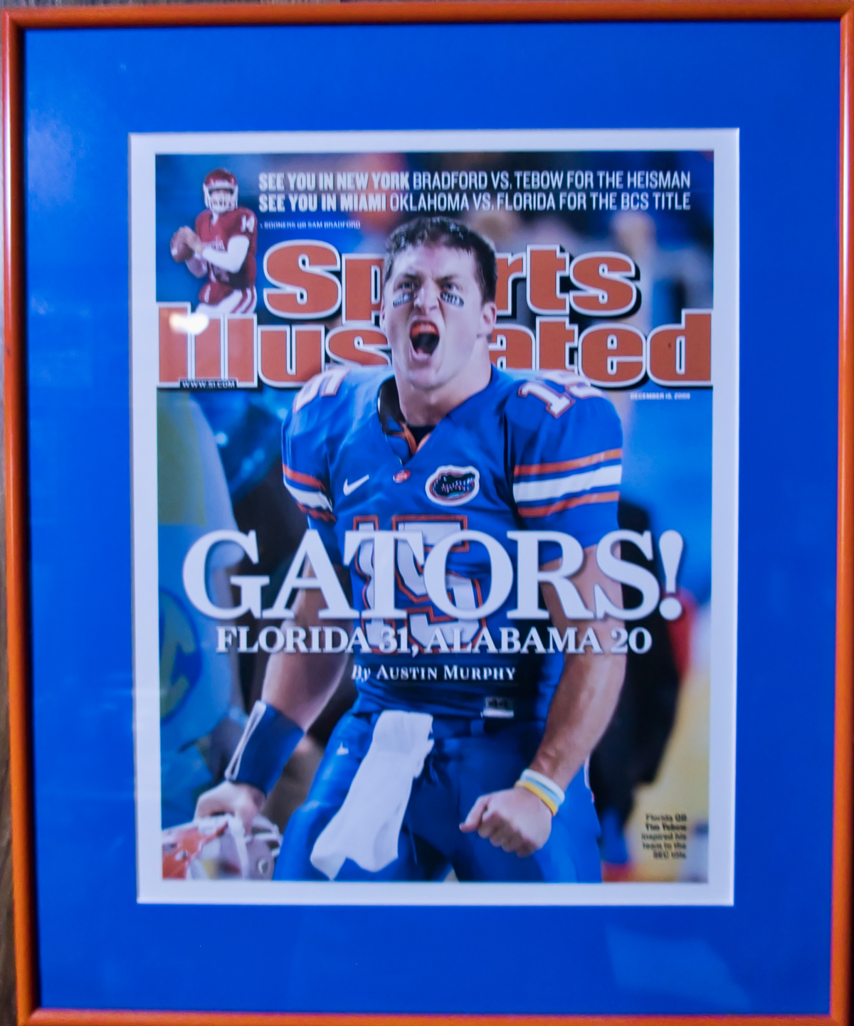 Tim Tebow and the Gators Beat Bama in the 2008 SEC Championship Game